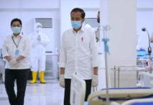 Presiden Jokowi meninjau Rumah Sakit 218x150 - Home
