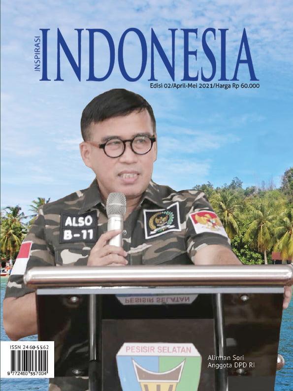 Cover E MAGAZINE INDONESIA EDISI APRIL 2021 - WORK FROM BALI UPAYA BANGKITKAN PAREKRAF
